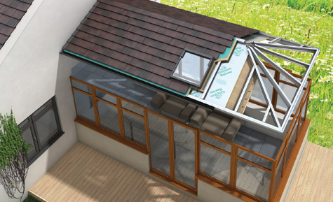Certified Guardian Warm Roof Installations